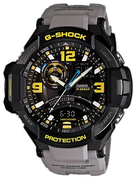 часы CASIO G-Shock GA-1000-8A, серия Aviator
